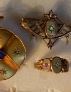 biżuteria z XIX wieku