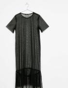 Czarna długa sukienka...