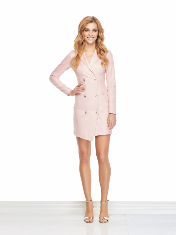 Sukienka Alison różowa Sugarfree XS S