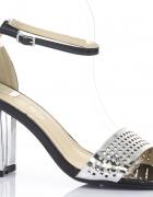 NOWE luksusowe sandały lustrzanki...