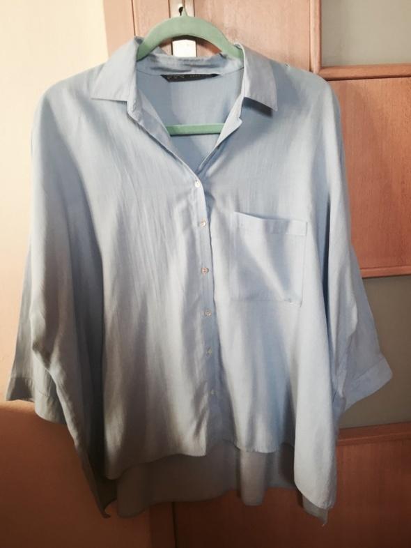 koszule oversize zara