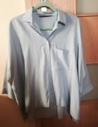 Błękitna koszula oversize Zara...