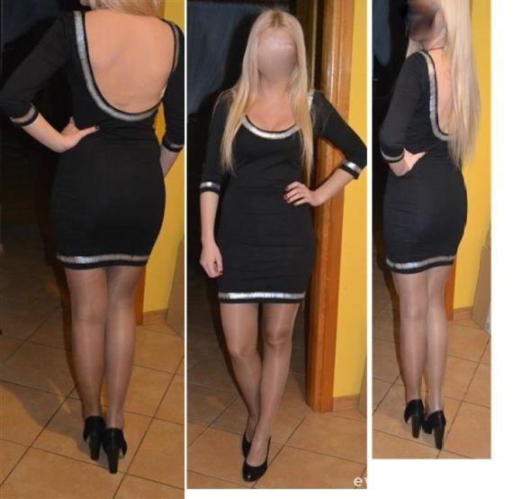 Suknie i sukienki Sukienka BERSHKA odkryte plecy