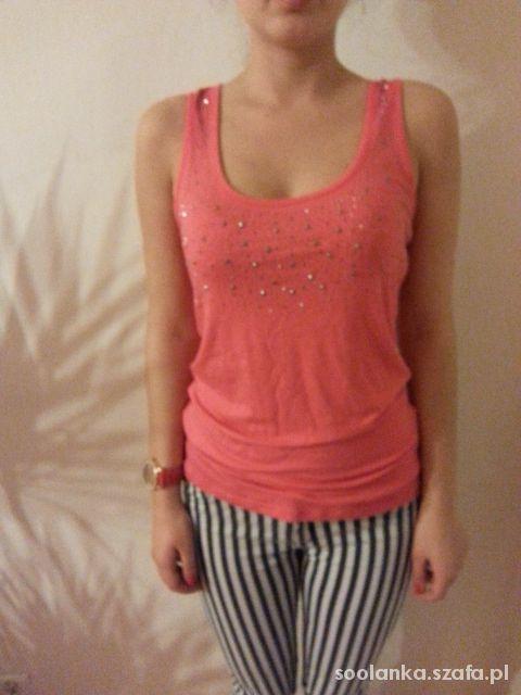 Bluzki bluzka różowa new yorker m s dżety