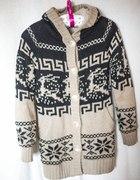 Ciepły gruby sweter