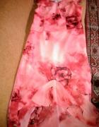 komplet spódnica maxi asymetryczna i bluzeczka...