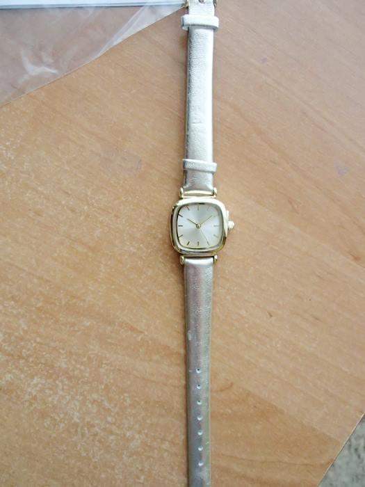 Złoty zegarek mały...