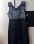 wełniana sukienka m