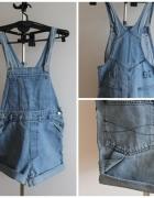 Jeans ogrodniczki jasne
