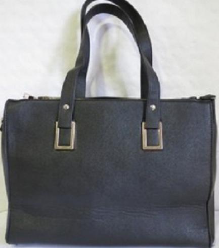 Sinsay czarna elegancka Shopperka