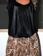 Sukienka z motywem panterki ML