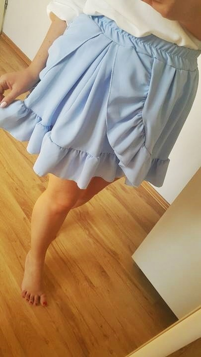 Spódnice Błękitna spódniczka