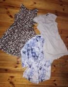 Dwie sukienki i koszula