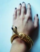 bransoletka wąż złota
