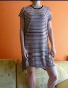 Asymetryczna tunika do legginsów Papaya Weekend L...