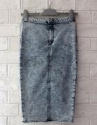 River Island ołówkowa marmurkowa spódnica