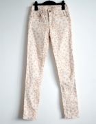 Spodnie panterka tumblr nowe kremowe...