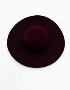Nowy bordowy kapelusz vintage Reserved...