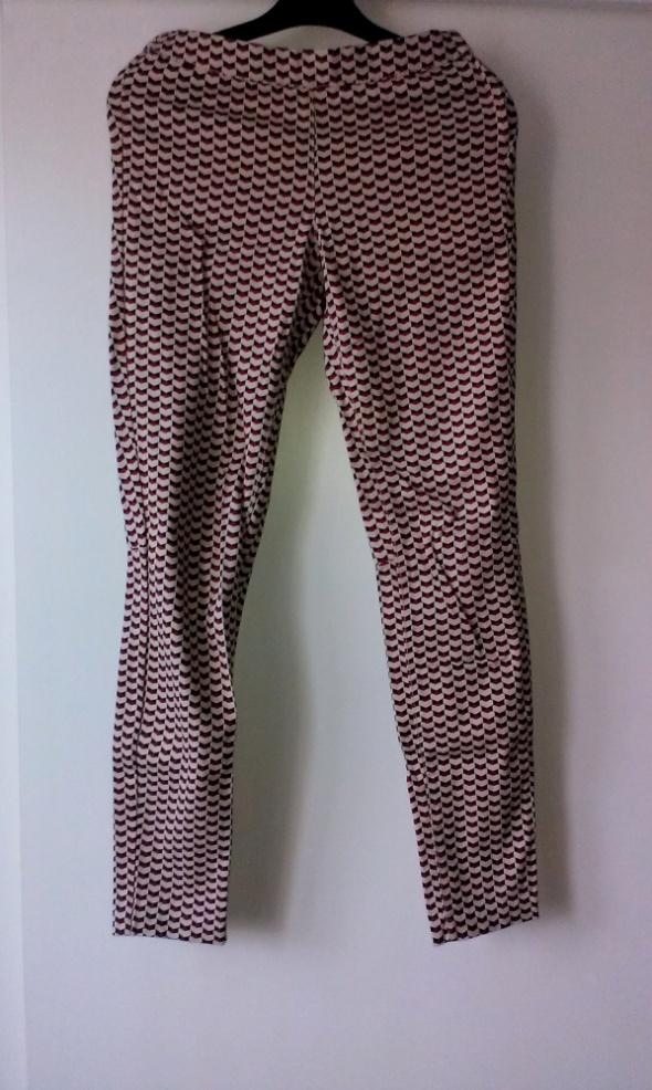 Spodnie spodnie rurki H&M wzór 34 XS