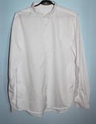 Biała koszula wizytowa długi rękaw L