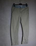 Beżowe chłopięce spodnie Zara Boys 13 14 lat...