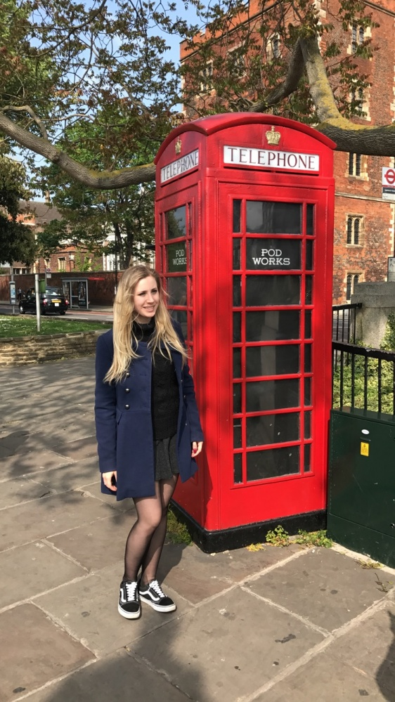 Mój styl Płaszcz w Londynie