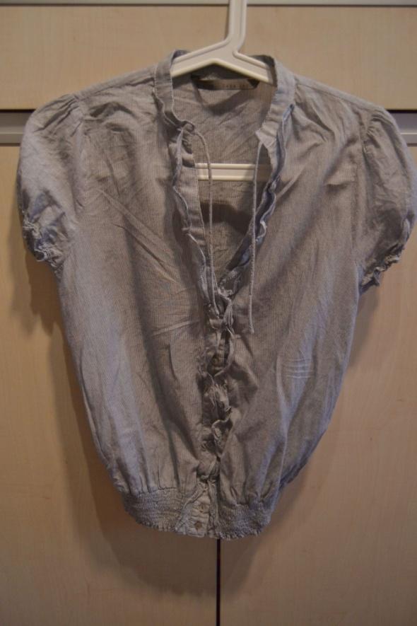 Bluzki ZARA bluzka w prążki XS 34