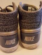 Nike panterka wysokie trampki...