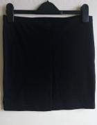 H&M mini elastyczna spódniczka czarna tuba 36 S