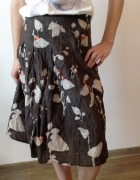 Spódnica trapezowa we wzory