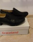Czarne buty z eko skóry 41
