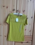Nowa seledynowa bluzka H&M