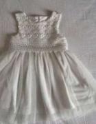 Koronkowa sukienka ślub wesele chrzciny...