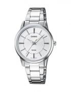 Zegarek CASIO LTP 1303D srebrny...