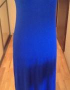 Kobaltowa sportowa sukienka GAP 36