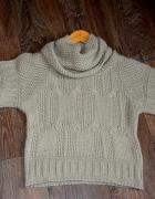 Wełniany sweterek XS S stan idealny