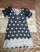 sukienka z bufkami L XL