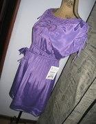 Zwiewna Sukienka Pastelowa ZARA tunika floral