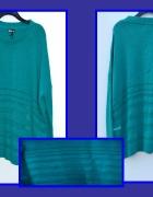 Nowy zielony sweterek Styl Plus Size
