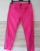Jeansy różowe rozm L...