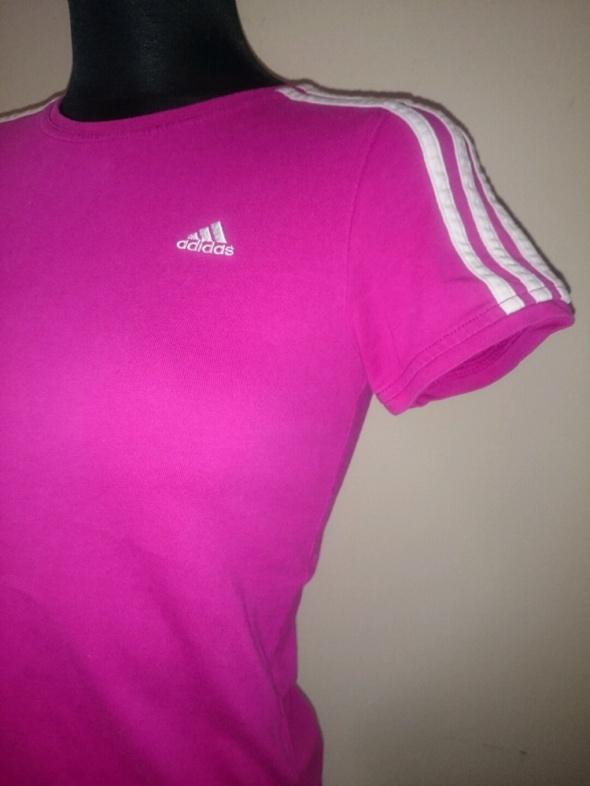 Bluzki adidas różowa bluzka Tshirt XS na S