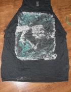 Zara luźna koszulka tshirt roz 40 42