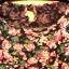 Bluzka tunika zielona w kwiatki M