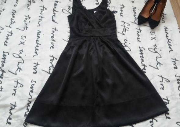 Suknie i sukienki sukienka czarna orsay