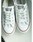 Białe trampki Converse 365