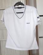 Reebok biała koszulka tshirt vintage kylie minimal...