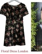 Sukienka w kwiaty z UK