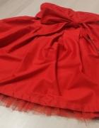 czewona sukienka Bershka rozmiar 36 S