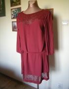 sukienka Promod z koronka 40...