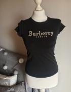 Burberry oryginalny tshirt bluzka krótkim rękawem...